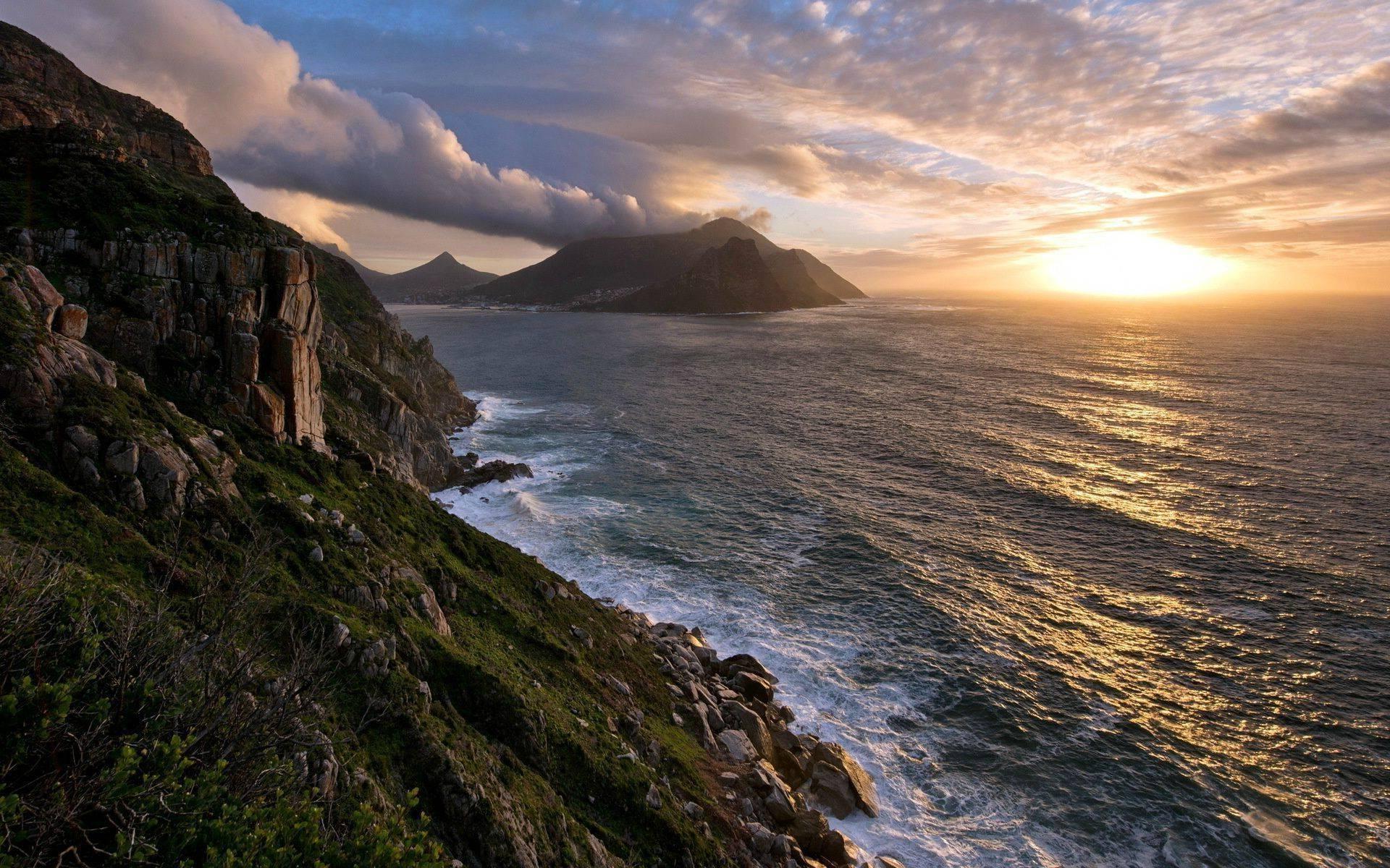 Cape Town Wide Desktop Background