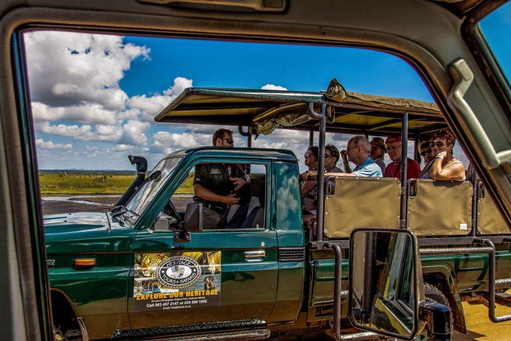 hluhluwe game reserve half day safari