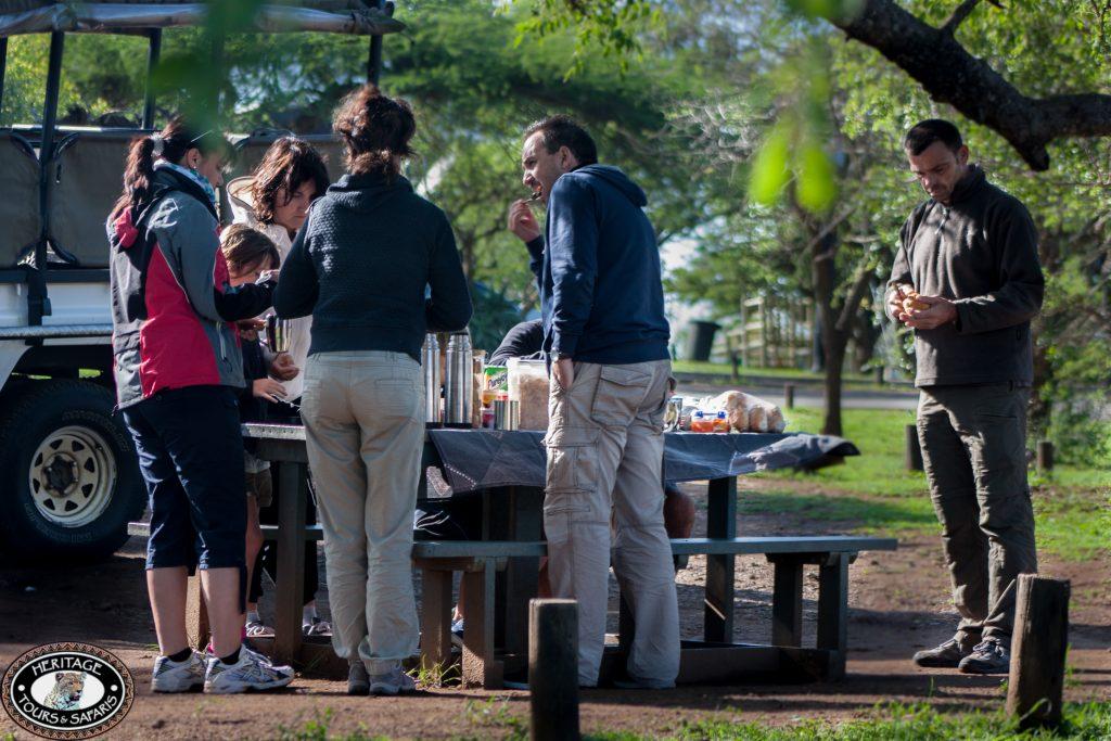 full day safari hluhluwe umfolozi lunch