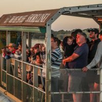 sunset hippo boat cruise