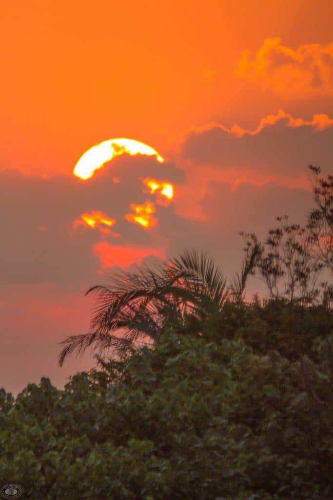 st lucia sunrise